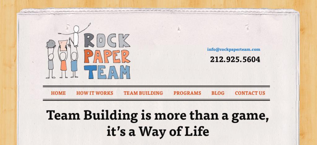 rock paper team