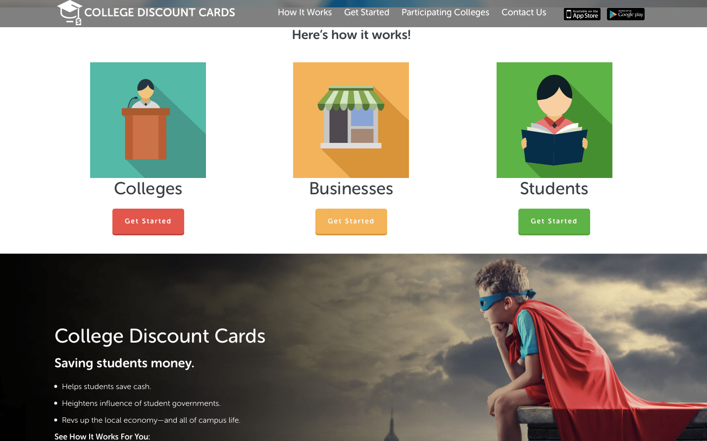 college discount site