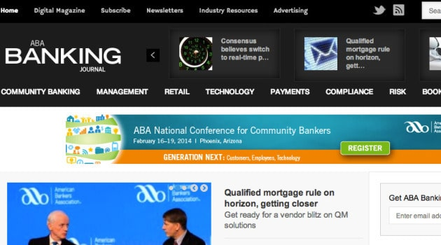 banking journal site