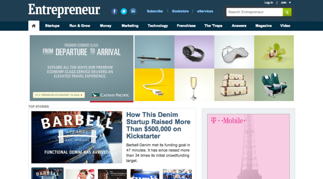 entrepreneur site