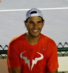 Rafael Nadal Smiling_BNP Paribas Open_2014