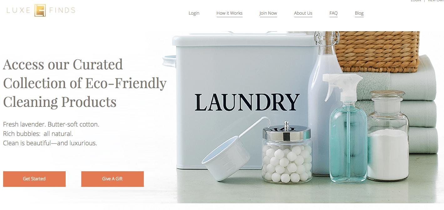 luxe finds website