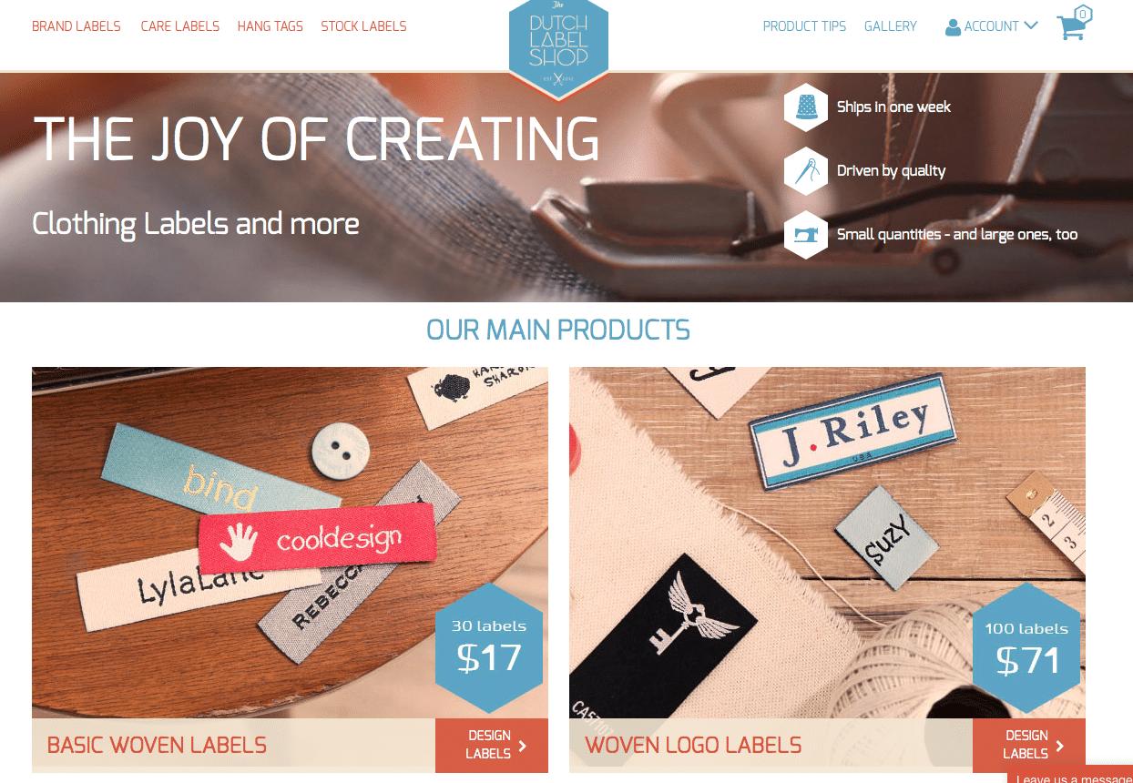 label making site