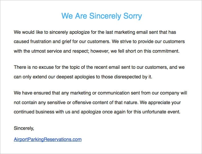 Badvertising Apology