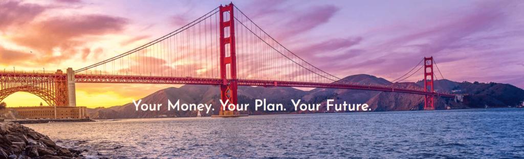 financial website copy
