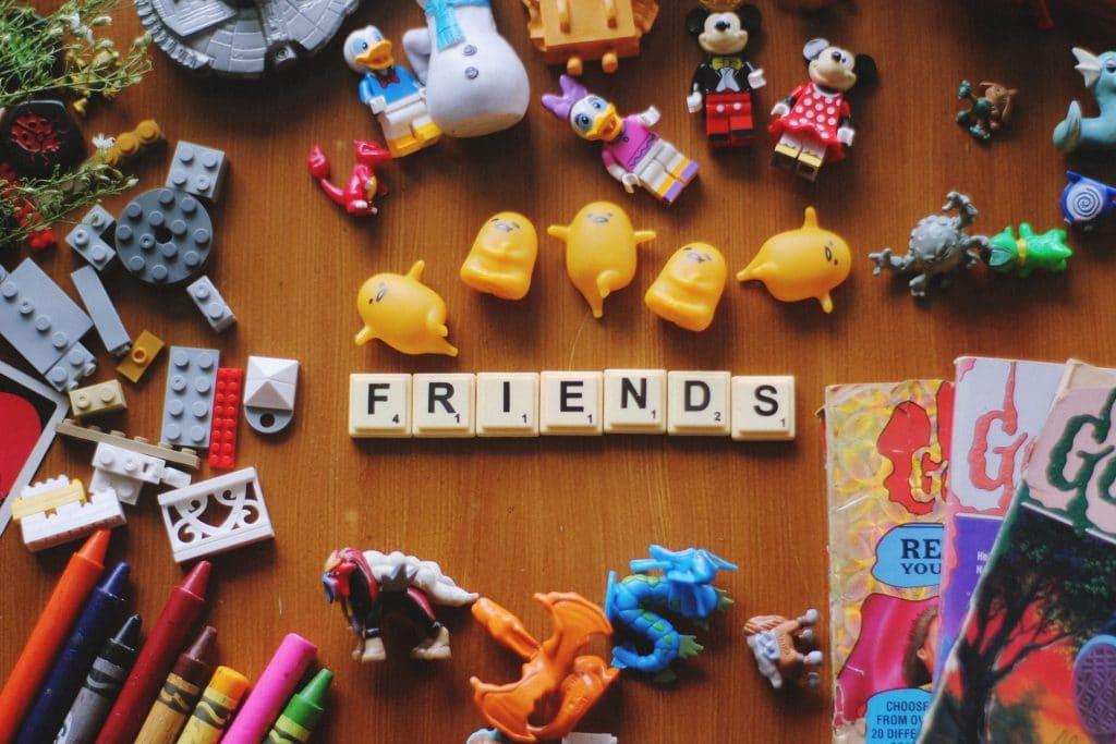 tiles spelling friends