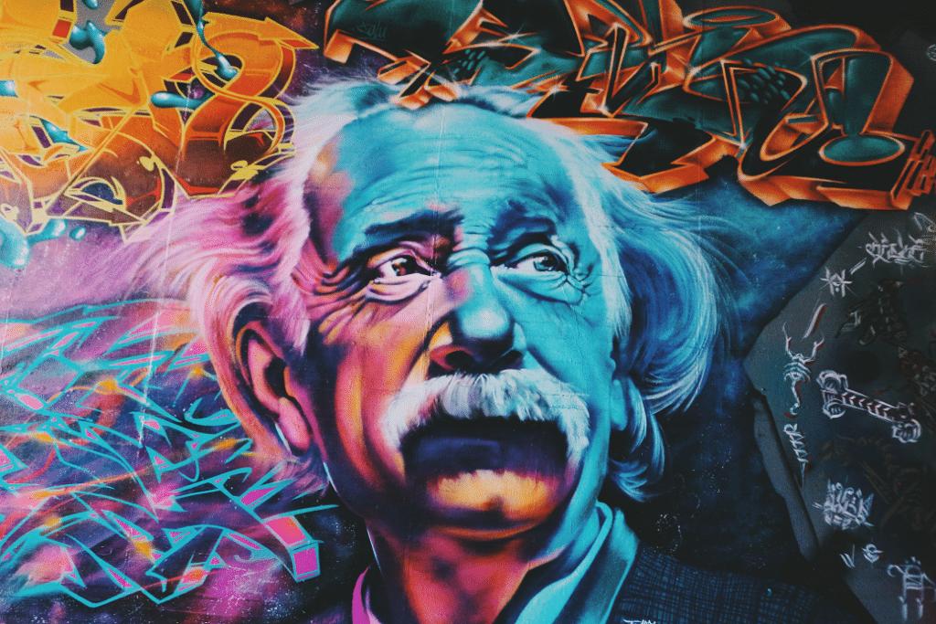 Einstein daily habit writing