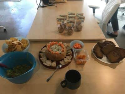 MarketSmiths copywriting agency fall office party