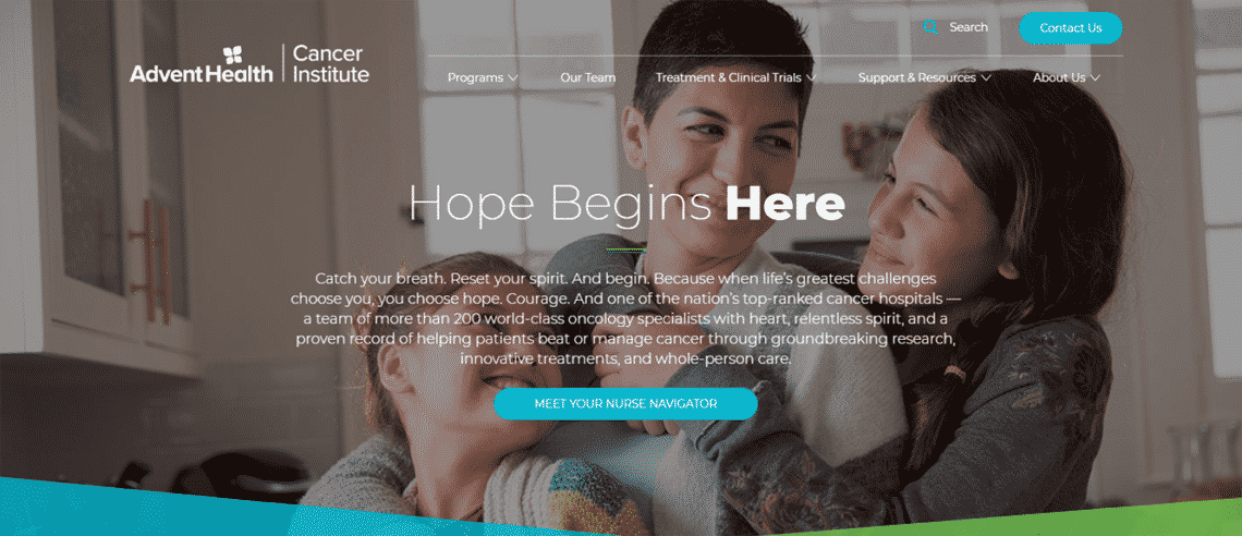 healthcare website copywriting