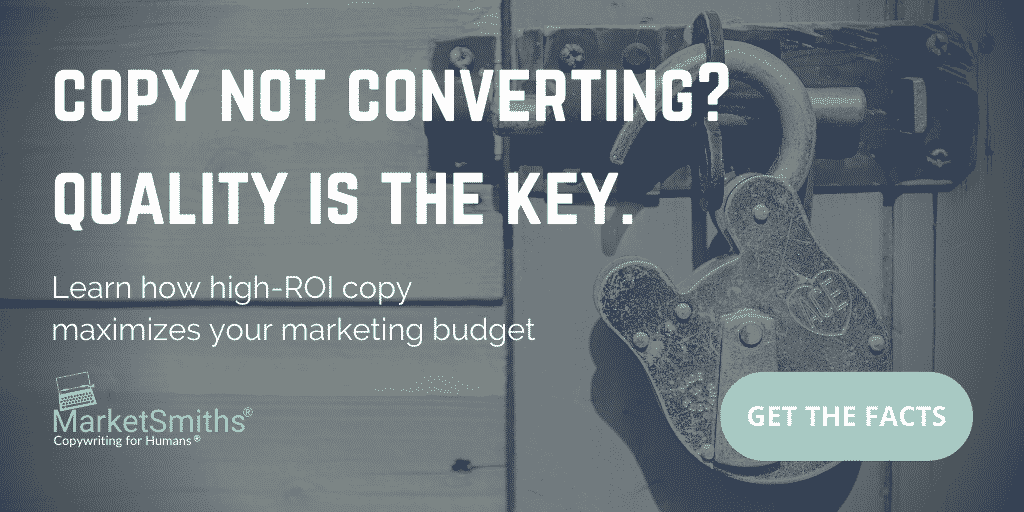 Copy Not Converting? Quality Is The Key.