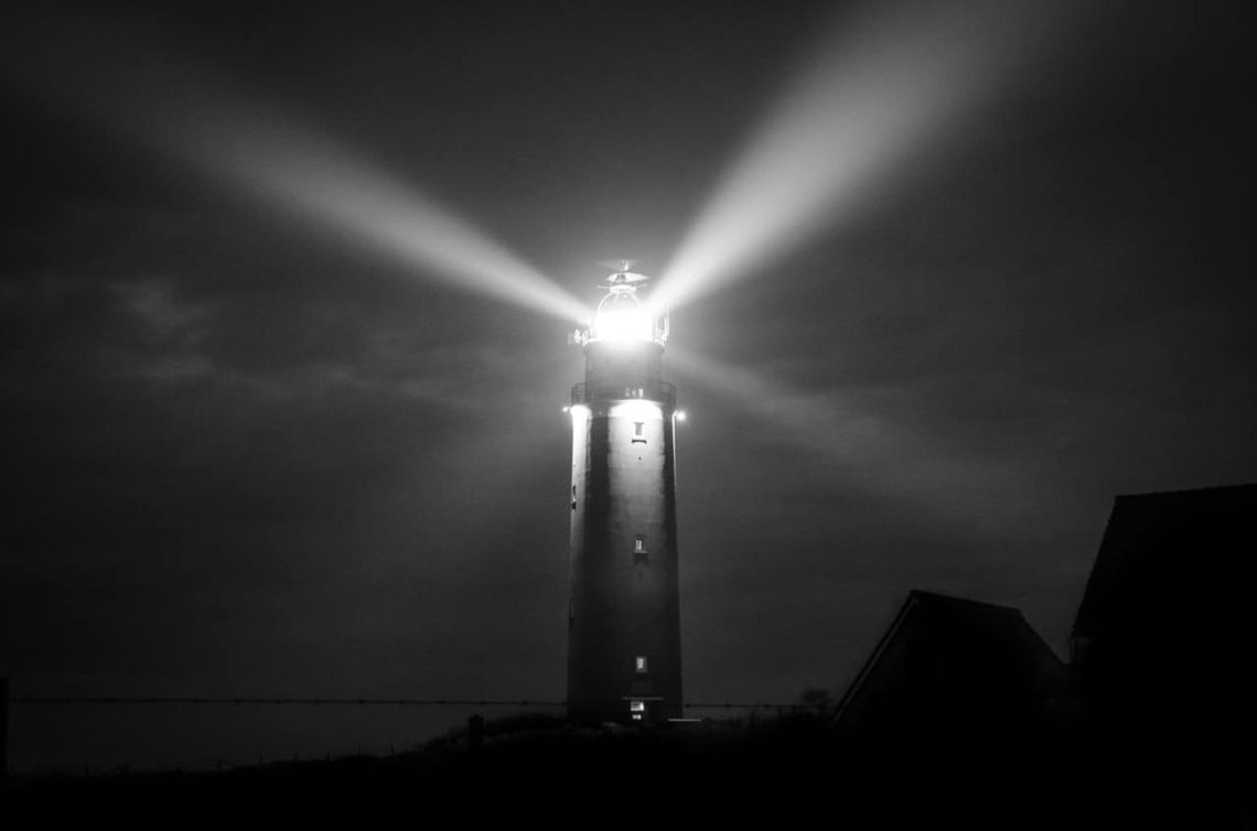 image of lighthouse representing how communication can shine a light in the darkness