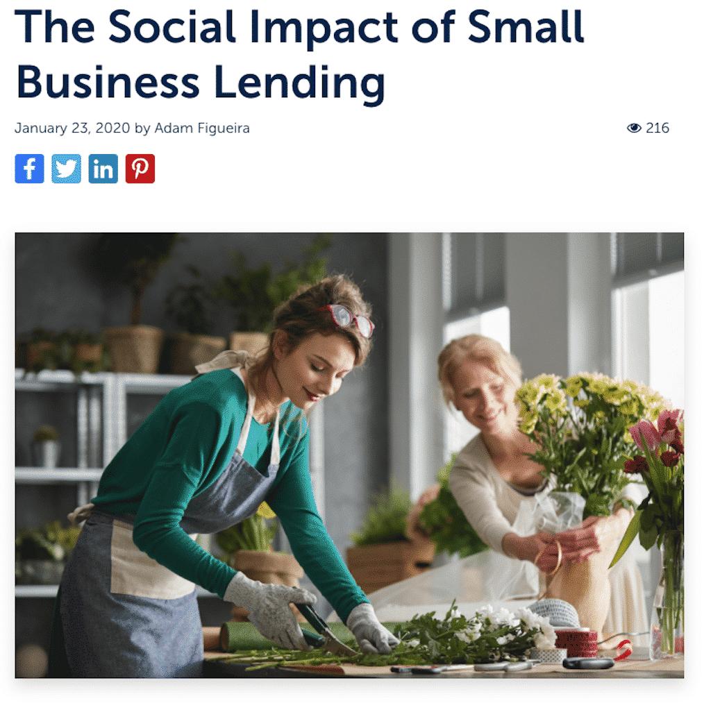 social impact copywriting