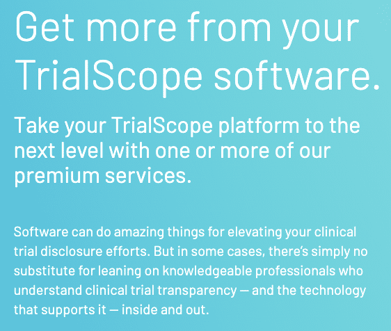 Get more from your TrialScope software.