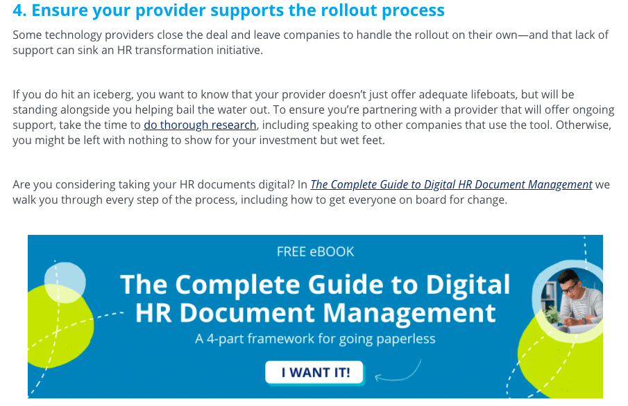 The complete guide to digital HR document management