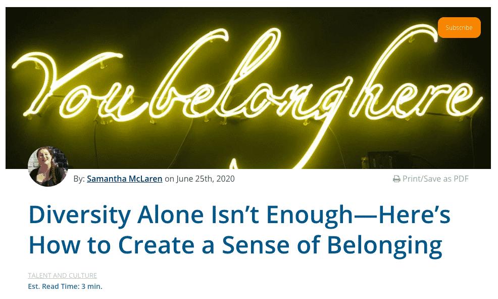 Diversity alone isn't enough
