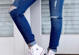 https://www.pexels.com/photo/person-in-blue-denim-jeans-and-white-converse-all-stars-52574/